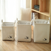 Professional wall hanging bag canvas organizer clothes basket toys for toy storage