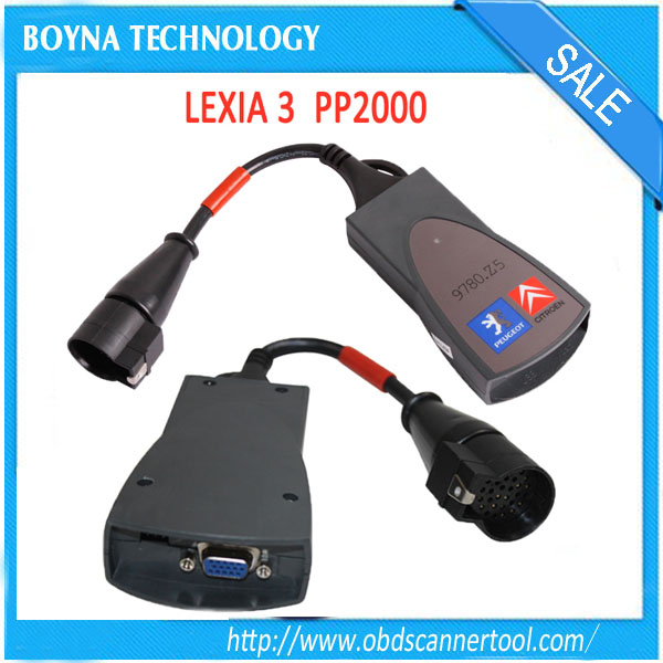 Best quality Lexia3 V48 PP2000 V25 PPS interface lexia 3 citroen peugeot diagnostic tool