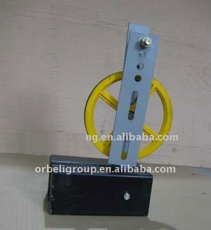 Elevator parts, Tension device