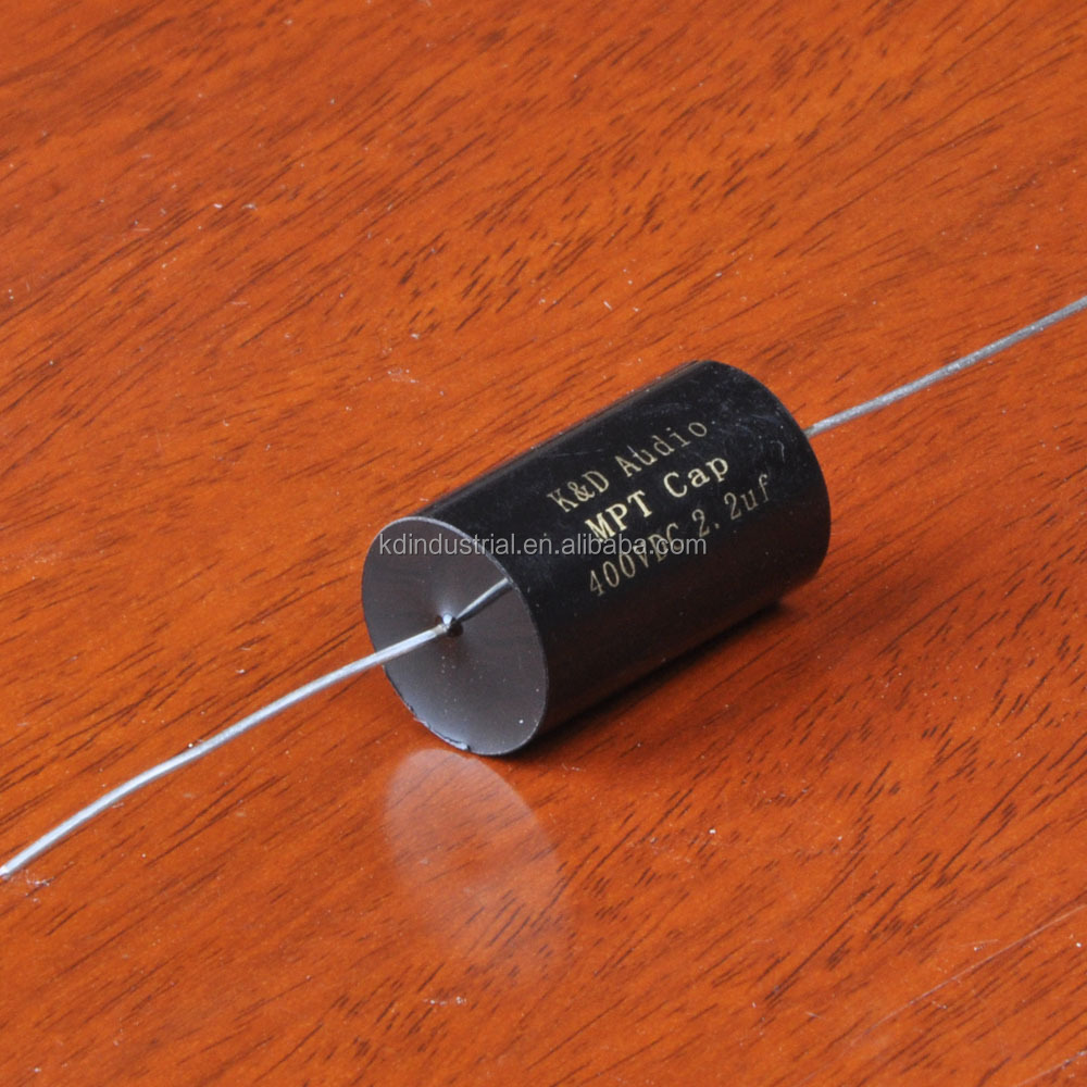 MPT 2.2uF 400V DC Audio Grade Axial Capacitor For Tube Amplifier