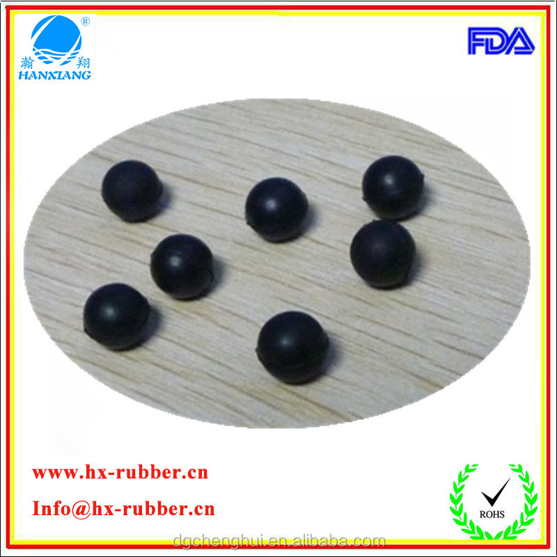 15mm Solid Mould Rubber Promotional Balls