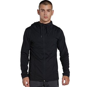 Customized Mens Full-Zip Hoodie Style Track Jackets