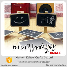 South Korea Style Wood Mini Blackboard Clip For Message Writing