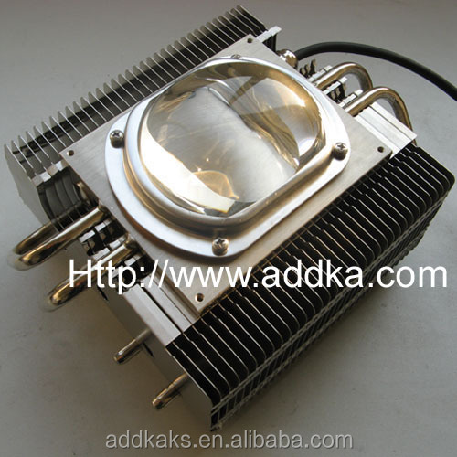 LED light heat pipe heat sink module