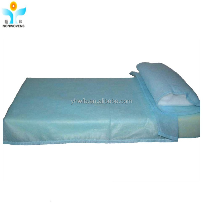 HOSPITAL Disposable PP/SMS/PP+PE bed sheet