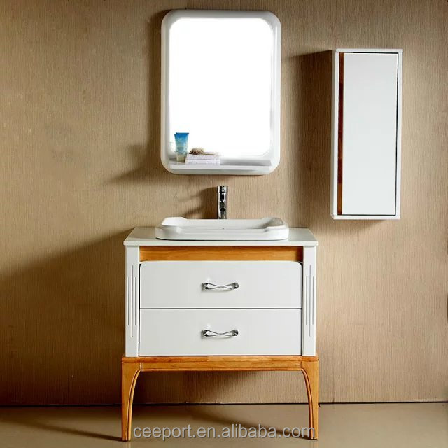 Hot selling free floor mounted ready made bathroom cabinet1071