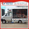 CCAG 4X2 Outdoor Mobile Led Display Advertising Vehicle