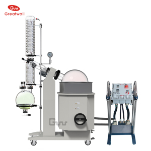 5L, 10L, 20L, 30L, 50Liter Explosion-proof Rotary Evaporator Industrial Rotavapor Chemical Rotovap with Chiller and Vacuum Pump