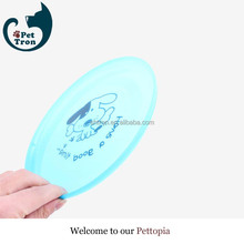 New hot fashion best quality soft light silicone dog frisbee