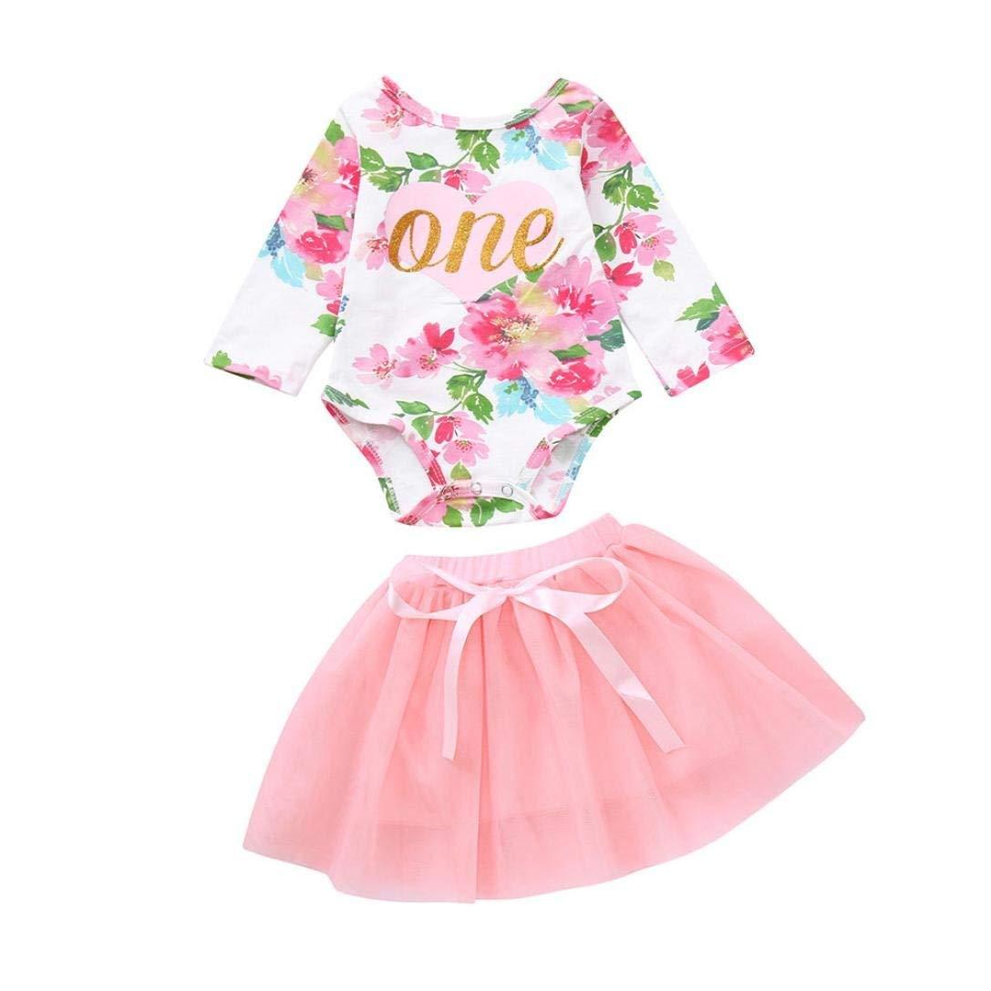 Little Girl Spring Autumn Dress Kids Baby Girls Long Sleeve Romper Princess Dress Casual Dress for 0-24 Months Jchen TM