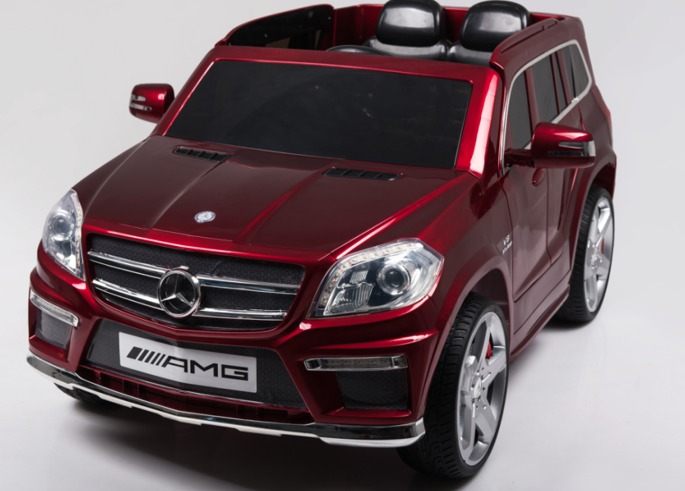 licensed mercedes benz gl63 amg kids rechargeable battery operated toy car official ride on car