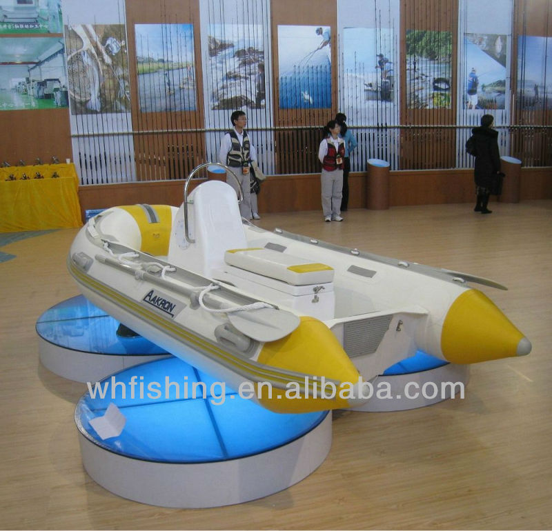 Inflatable Rib Boat 290 with aluminum hull