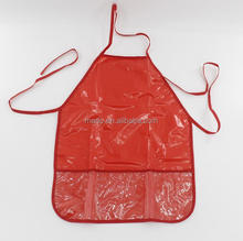 Children 100% Waterproof paint pvc apron for kids drawing