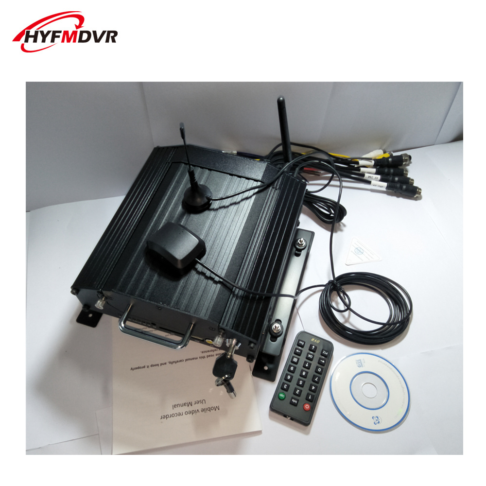 4g gps wifi mdvr monitoring host car <strong>dvr</strong> factory direct selling 4ch mobile <strong>dvr</strong> hard disk on-board video recorder