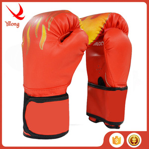 leather club sparring gloves