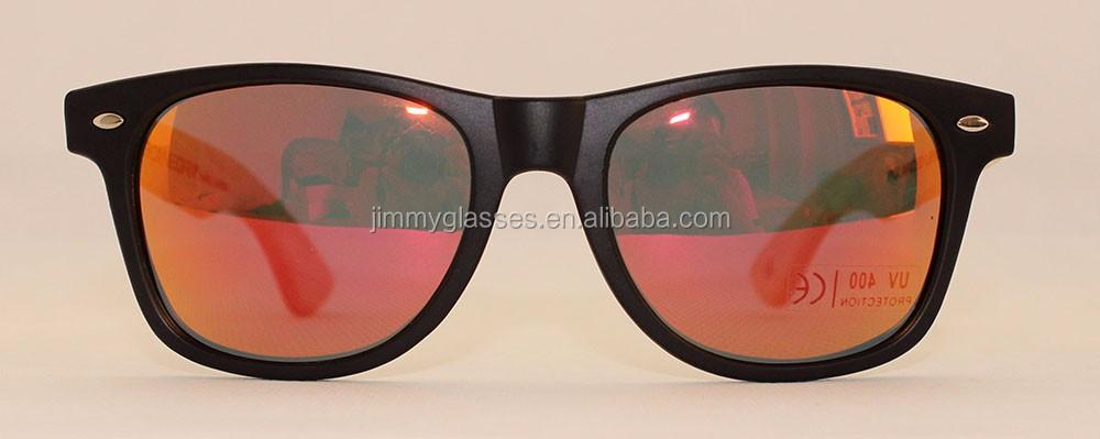c000cff62a4 High Quality Cheap Sunglasses Plastic Frame Custom Logo Wood Temple  Sunglasses