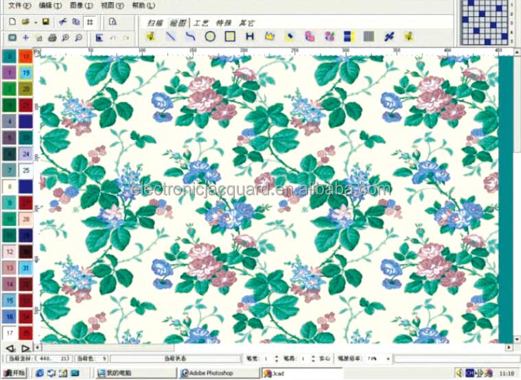 Electronic Jacquard Textile Design Cad Software - Buy Jacquard ...