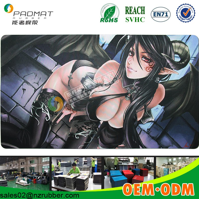 sex girl Mouse pad