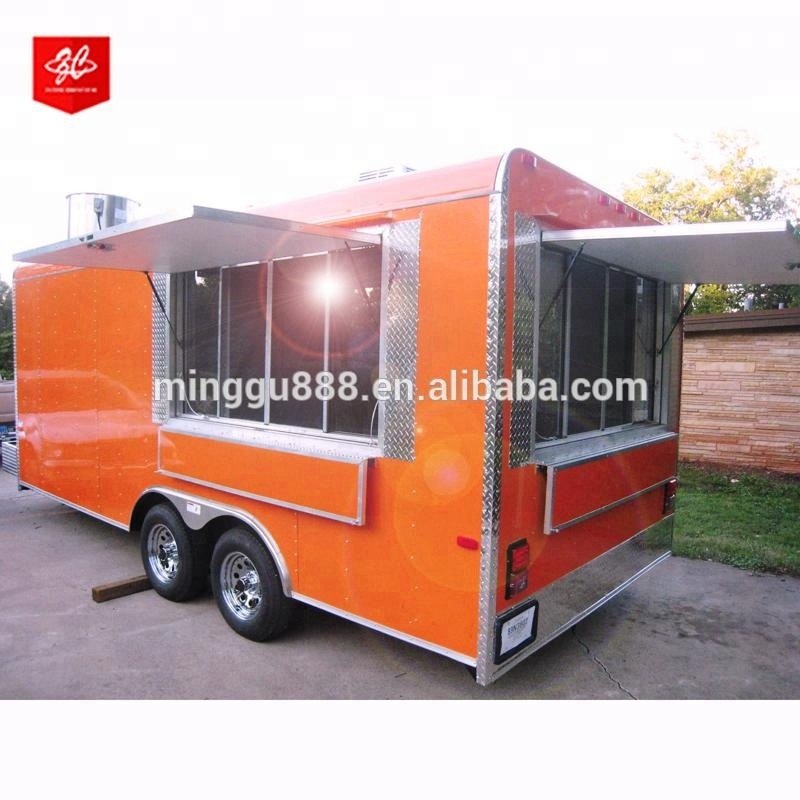 mobile catering trailer food truck/mobile food truck for sale europe