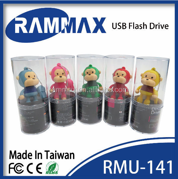 cartoon character usb memory stick for bootable 2gb usb