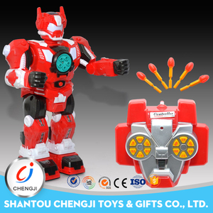 Intelligent plastic model big rc fighting robots for adults