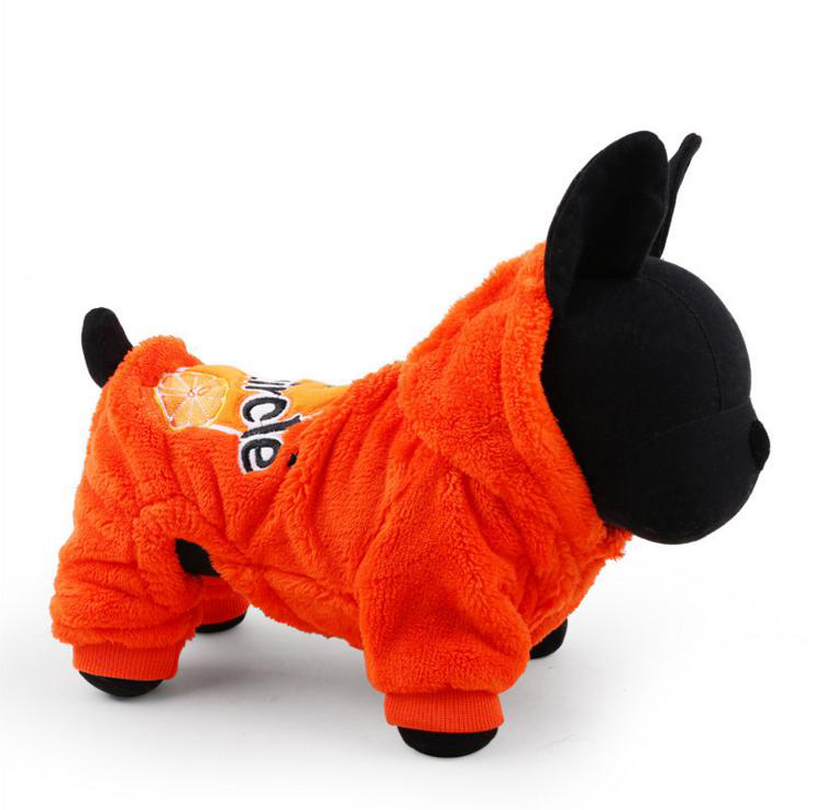 Best Selling Coral Fleece Autumn Winter Pet Clothes Cute Warm Dog Puppy Clothes Apparel Costumes