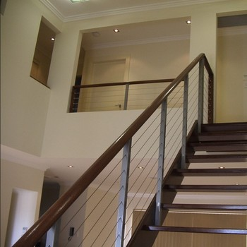 Stainless Steel Cable Railing Design Diy Indoor Wire