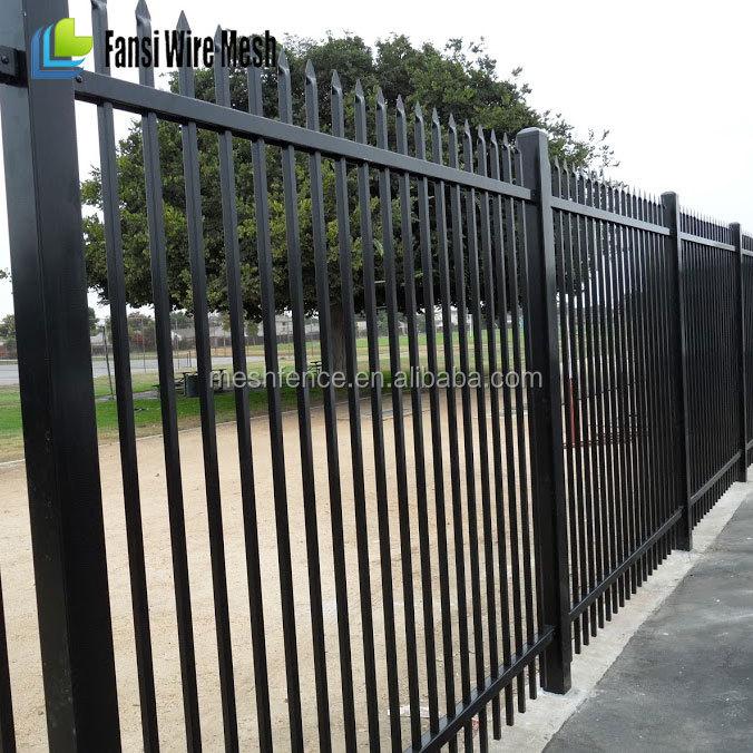 eeuu mercado metal de doble haz valla de hierro forjado - Vallas Metalicas Jardin