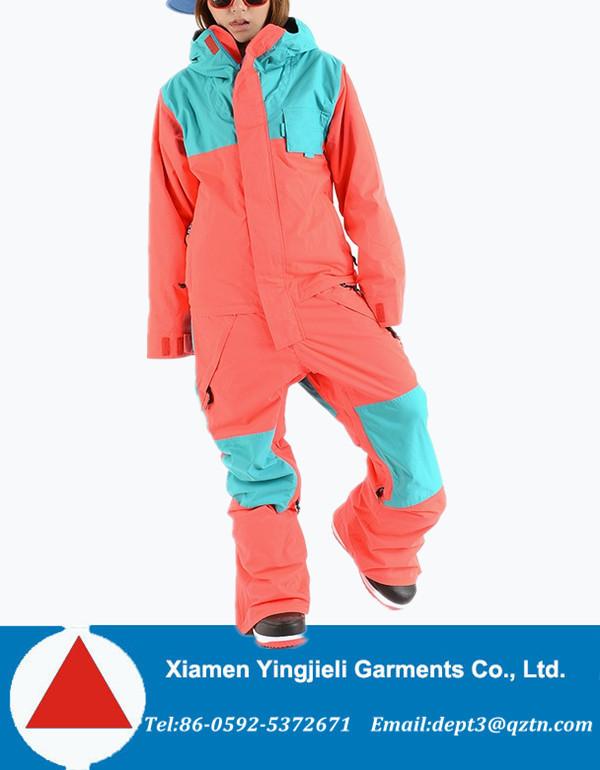 Womens Snow Suit One Piece >> 2015 Winter Waterproof Ladies One Piece Ski Jumpsuit For Skiing Buy Ladies Ski Jumpsuit Ladies One Piece Ski Jumpsuit Winter Waterproof Ladies Ski