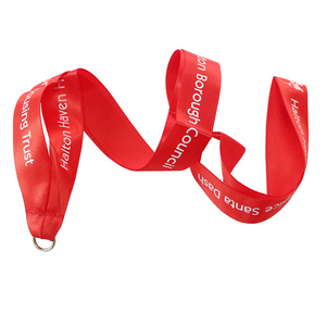 Factory Promotion Cheap Printed Medal Lanyard With Your Logo