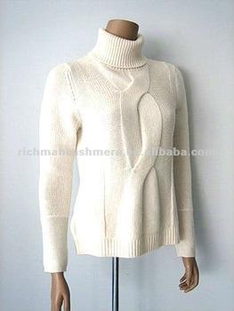 A mano a maglia donne lana/sciolto cashmere maglioni pullover