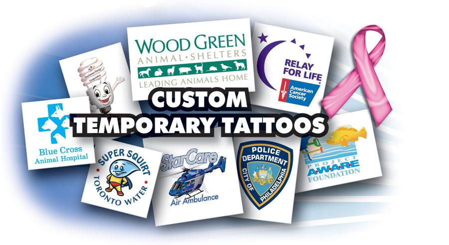 Make Your Own Logo Design Custom Temporary Tattoo - Buy Temporary ...
