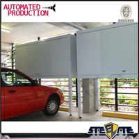 Australia market steel over bonnet storage box over car bonnet storage cabinet in garage