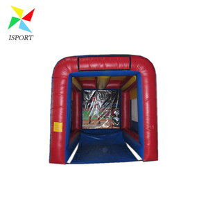 inflatable speed cage with baseball /Inflatable Basketball shooting Sports Games For Schools
