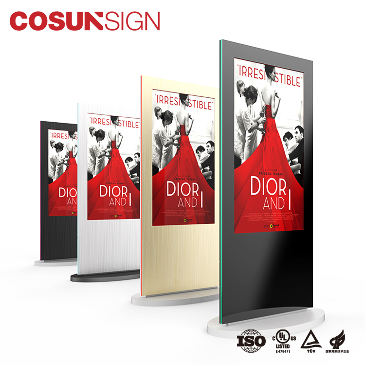 Cosun Outdoor Display Glass Screen Software Kiosk Icd Digital Signage Media Player