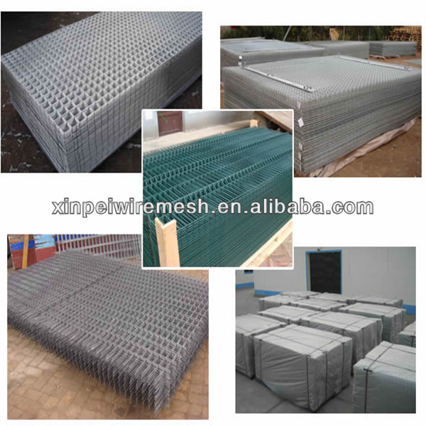 2x2 Galvanized Welded Welded Wire Mesh Fence Panels In 12 Gauge ...