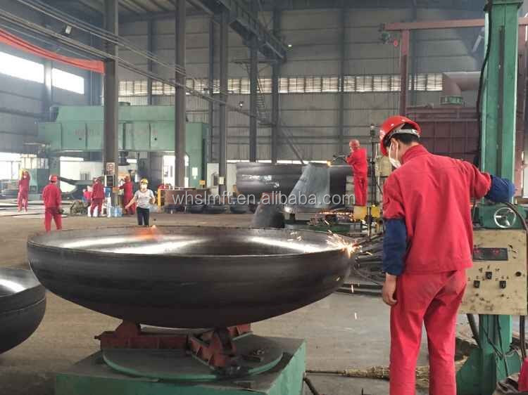solar energy pressure vessel for steel aluminum hemisphere heads