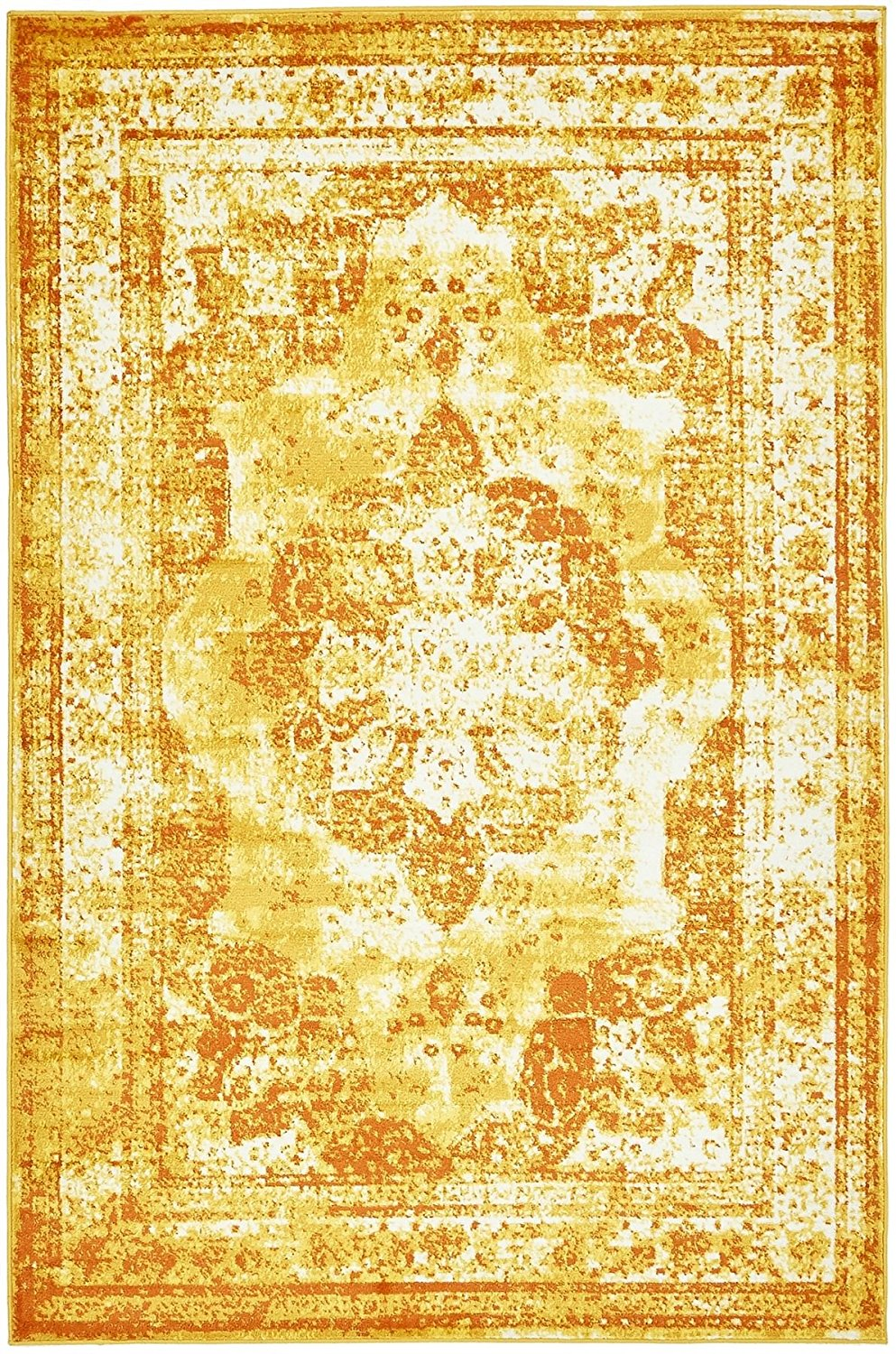 Yellow Persian Rug Find