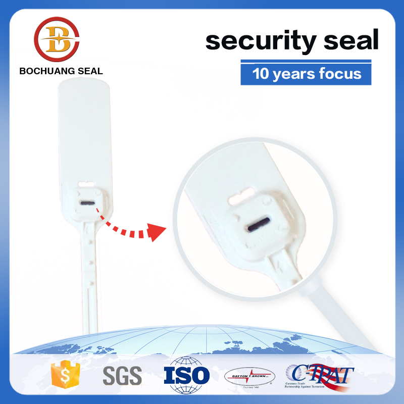 Adjustable Pull-Up Strap plastic security seal P405