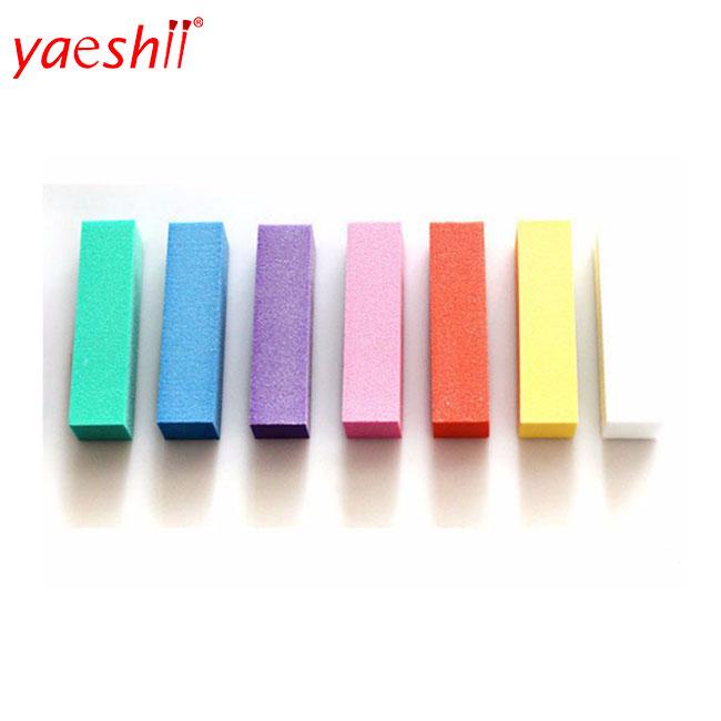 yaeshii Acrylic nail art tips buffer buffing sanding block files