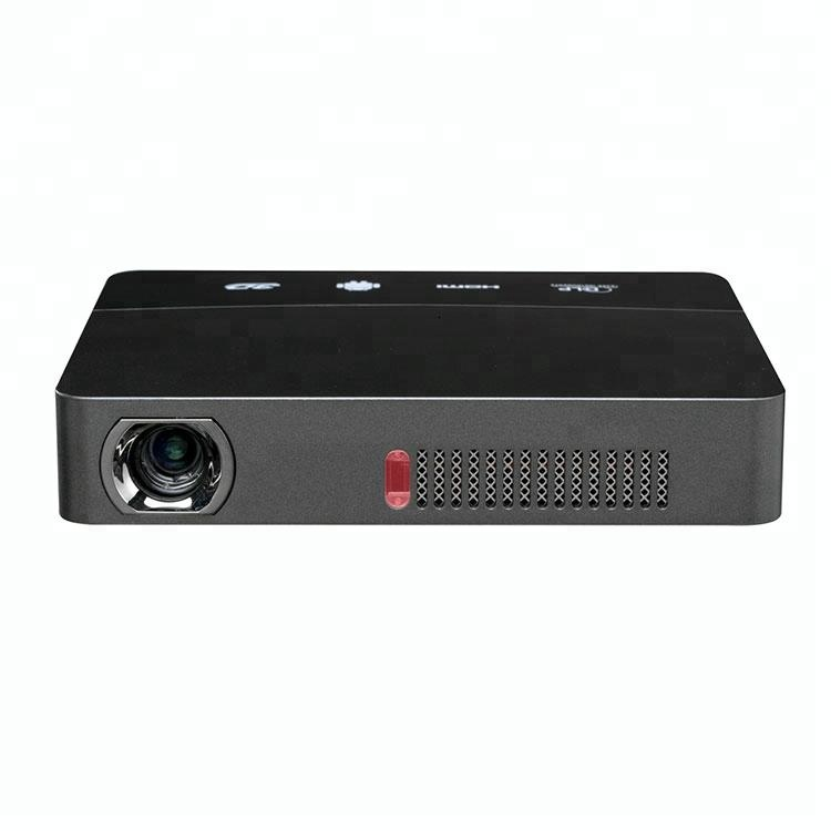 China OEM smart mini Multimedia DLP 3D Portable Projector with WiFi Android