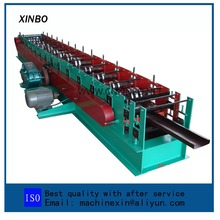 Purlin use automatic metal steel track c u shaped steel roll forming machine machine making gutter roll forming machine