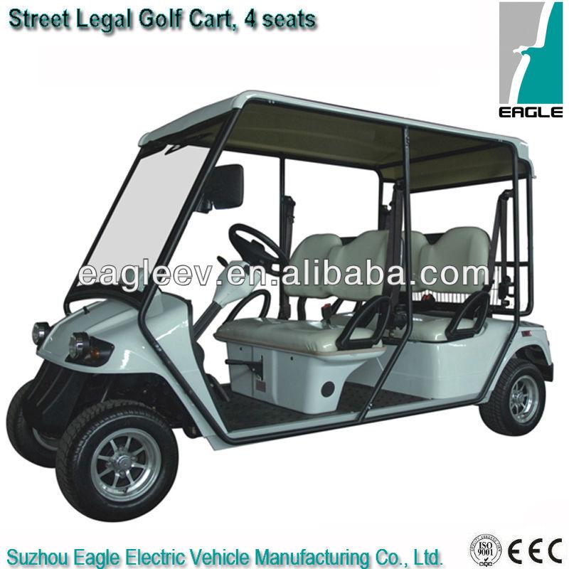 Street Legal Electric Carts >> Street Legal Electric Golf Cart 4 Seater Eg2048kr 01 Buy 4 Seater Street Legal Carts Street Legal Golf Cart Street Legal Electric Golf Cart Product