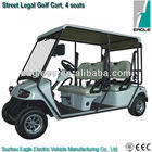 Street legal electric golf cart,4 seater, EG2048KR-01
