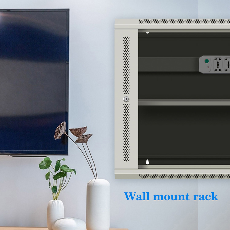 mount server rack for secure cover racksolutions wall wallmount