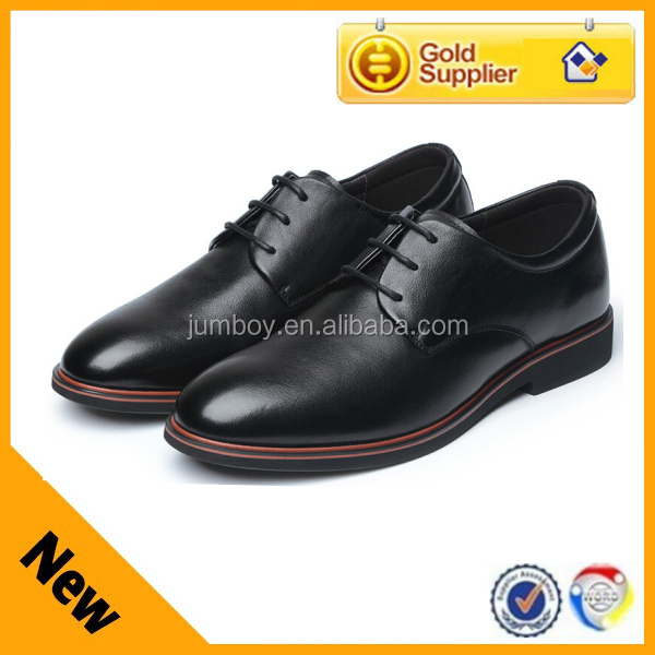 nice bridal genuine leather men shoes in guangzhou manufacturer