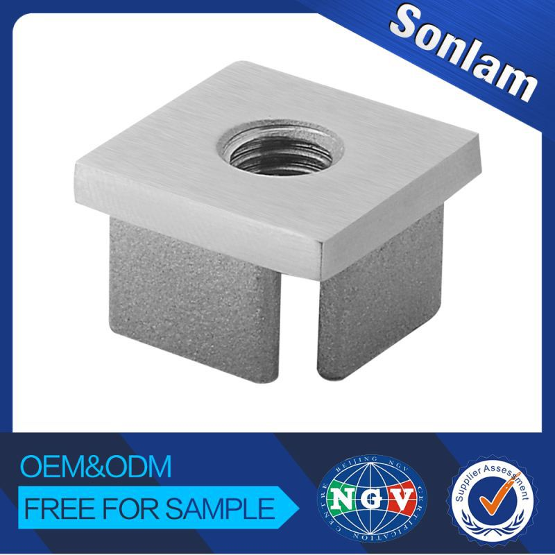 Superior Quality Wholesale Price On-Time Delivery Perfect After-Sale Service Stainless Steel Square Tube End Caps