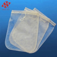 Reusable Almond Nut Milk Bags, Oil Water Coffee Filter Mesh Bags
