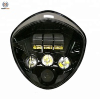 High Quality 60w Victory led headlight 12v Victory Motorcycles Cross country headlight kit automobiles &amp motorcycles