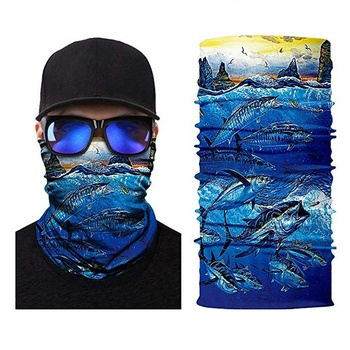 Wholesale Fashion Custom Multifunctional Tubular Seamless Bandana Headwear Outdoor